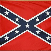 Confederate Rebel Flag 3ft x 5ft Printed Polyester
