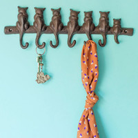 Cat-alyst for Change Wall Hooks