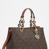 Women's MICHAEL Michael Kors 'Cynthia - Medium' Satchel