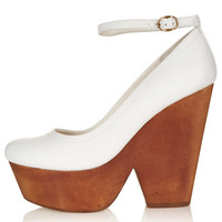 SACHA Wooden Platform Courts - Heels - Shoes - Topshop USA
