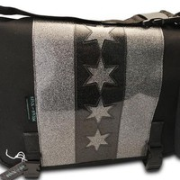 Sink or Swim Pilsen Chicago Messenger Bag Accessories Bags at Broken Cherry