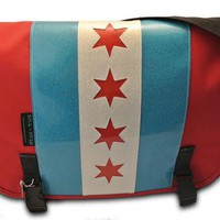 Sink or Swim Fullerton Chicago Messenger Bag Accessories Bags at Broken Cherry