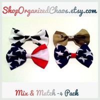 Custom Mix & Match Bow Set ( 4 pack)
