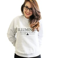 Illuminati Eye Triangle Sweater sweatshirt