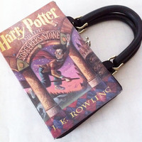 Harry Potter and the Sorcerer's Stone Book Purse by NovelCreations