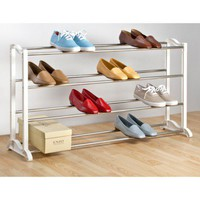 LYNK 20-Pair Shoe Rack