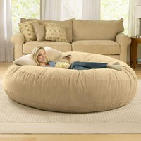 6ft Jaxx Cocoon Microsuede Bean Bag Chair