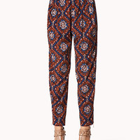 Ikat Satin Trousers