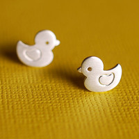 Sweet Ducky Earrings