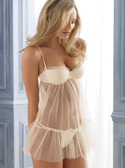 Tulle & Satin Babydoll - Sexy Little Things® - Victoria's Secret