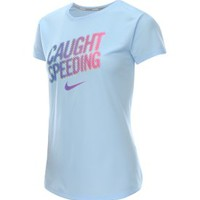 Nike Women's Caught Speeding Challenger Running T-Shirt