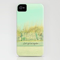 Let's Get Lost Together iPhone Case by RDelean | Society6