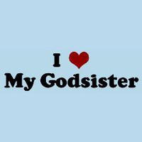 I Love My Godsister Baby Bodysuits | I Love My Godsister Infant Bodysuits - CafePress