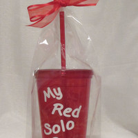 My Red Solo Cup Tumbler 16 oz