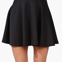 Rad Skater Skirt - Black
