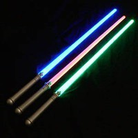 "Light Up Laser Lightsaber Sabre Sword 29"" (3 PACK)"