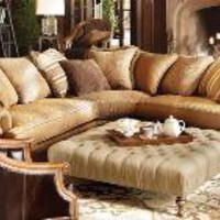 Garcia Chestnut Sectional | Welcome To Arhaus Furniture