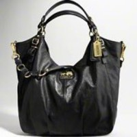 Coach :: MADISON LEATHER LARGE SHOULDER BAG