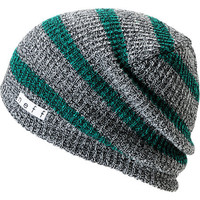 Neff Daily Grey & Green Striped Beanie at Zumiez : PDP