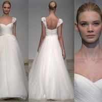 CHRISTOS Brisa dress inspiration | atelierTAMI - Wedding on ArtFire