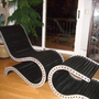 Conveyor Chair & Ottoman by jcellingwoods on Etsy
