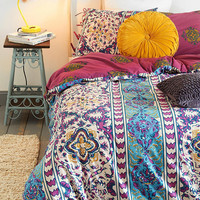 Magical Thinking Boho-Stripe Duvet Cover-