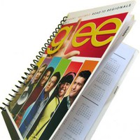 Glee 2013 2014 Daily Planner Season 1 UpCycled Gleek by PopCulturePlanners on Zibbet