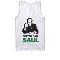 Breaking Bad Better Call Saul Tank Top Shirt Funny Saul Goodman Jesse Pinkman Shirt