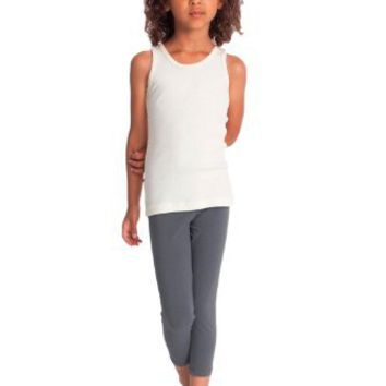 American Apparel Kids Cotton Spandex Jersey Legging