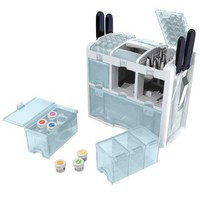 Wilton 409-623 Ultimate Tool Caddy 3-Level Cake-Decorating Accessory Organizer
