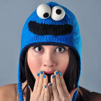 Cookie Monster Sesame Street Hat | SnorgTees