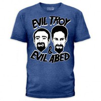 Community Evil Troy and Evil Abed T-Shirt