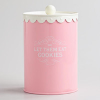 Let Them Eat Cookies Canister | World Market