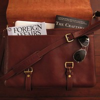 English Leather Briefcase By Lotuff | The Gadget Flow