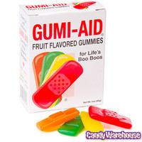 Gummy First Aid Bandages: 3-Ounce Box | CandyWarehouse.com Online Candy Store