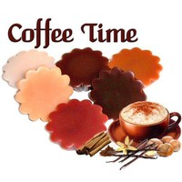 6 Coffee Time Variety Tarts Wickless by WoodcraftsandCandles