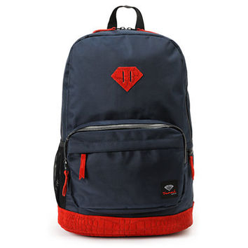 ... Co. Diamond Navy & Red Croc School Life Backpack at Zumiez : PDP