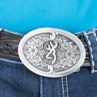 Browning Scroll Belt Buckle - Buckles - Women's Accessories - Women's