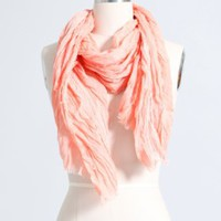 Crinkle Lace Scarf in  New Accessories at Brooklyn Industries