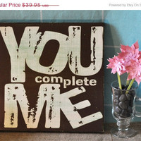 Spring Sale You Complete Me Expressive Art by everlastingdoodle