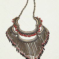 Fine Fringe Collar at Free People Clothing Boutique