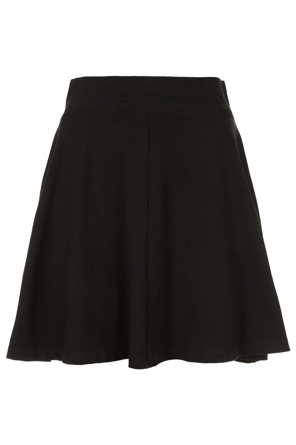 black high waist skater skirt skirts from topshop