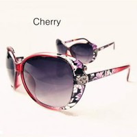 Oversize Butterfly Shape Flora Frame Sunglasses for Women P8