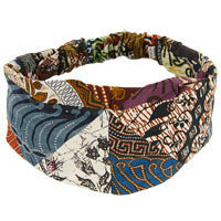 Animal Rescue - Pet Shop - Batik Patchwork Headband