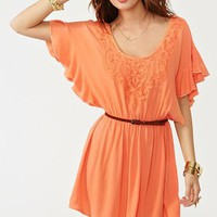 Crochet Away Dress in  Clothes Dresses at Nasty Gal