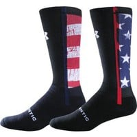 Under Armour Ignite Stars and Stripes Crew Sock