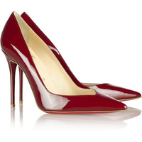 Christian Louboutin - Completa Patent Red Pumps