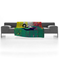 DENY Designs Home Accessories | Sophia Buddenhagen Anchor Fleece Throw Blanket