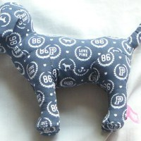 Victoria Secret Navy Blue Pink Love 86 Dog