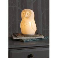 White Bone China Owl Lamp | Folly Home | Design-led Gifts, Home wares, Vintage Finds